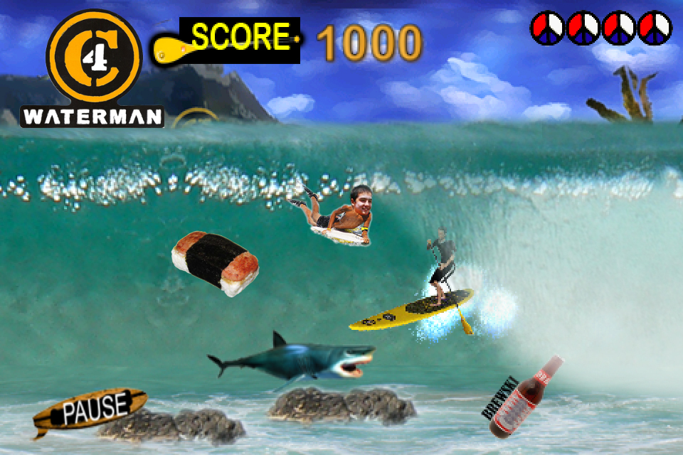 Screenshot C4 Waterman Surf N Sup Challenge